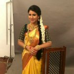 Alya Manasa, Semba, yellow saree, treditional, jewellers