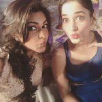 Amala Paul, Unseen With Actress, Tamannnah, selfie