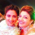 Amala Paul, Unseen With Actress, kajal aggarwal, selfie