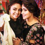 Amala Paul, Unseen With Actress,  keerthy suresh