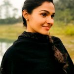 Andrea Jeremiah, black dress, tour, shy