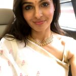 Andrea Jeremiah, selfie, saree, latest, hd