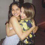 Andrea Jeremiah, trisha, actress, tamil actress, hug