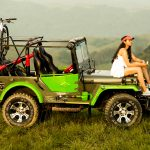 Andrea Jeremiah, unseen, jeep, vacation