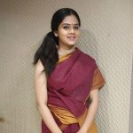 Anitha Sampath, Sun News, village style, saree
