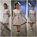 Anitha Sampath, Sun Tv, modern dress