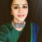 Anjana Rangan, selfie, face, saree, anjanavj, sun music