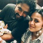 Anjana Rangan, selfie, family, husband, rudraksh