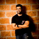 Arun Vijay, black dress, high quality