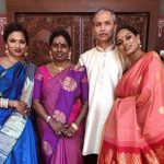 Chandrika Ravi, Family, mom, dad, sis