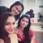 Chinmayi Sripaada, girls, andrea, selfie