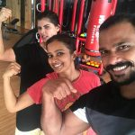 Chinmayi, gym, trainer, rare