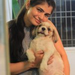 Chinmayi, pet animal, dog, family
