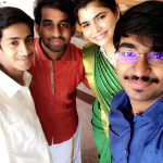 Chinmayi, relative, fans, saree, unseen