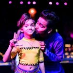 Ditya Sagar Bhande, laxmi Child Artist, stage, kiss