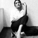 Eesha Rebba, Aravinda Sametha Veera Raghava Actress, black and white