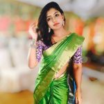 Eesha Rebba,  green saree