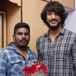Gautham Karthik, movie, pooja, event