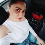 Inayat Sharma, Selfie, car, top view