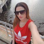 Inayat Sharma, Selfie, red t shirt, coolers