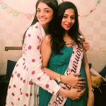 Kajal Aggarwal, friends, function, smile