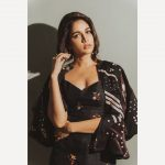 Lavanya Tripathi, Antariksham Actress, black dress, pretty