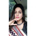 Lavanya Tripathi, Mudra heroine, selfie, saree, car