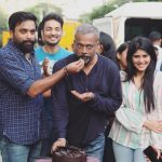 Megha Akash, cake, celebration, shooting spot, Enai Noki Paayum Thota