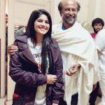 Megha Akash, superstar, rajini, rajinikanth, Petta