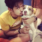 Nakkhul, Nakul, dog, pet, kiss