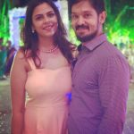 Nakul, Shruthi Bhaskar, night, party