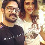 Nakul, Shruthi Bhaskar, selfie, life partner