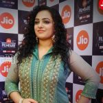 Nithya Menen, Pyscho Actress, award function, handsome