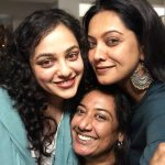 Nithya Menen, Pyscho Actress, gf, selfie, hug