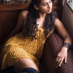 Nithya Naresh, yellow dress, naughty