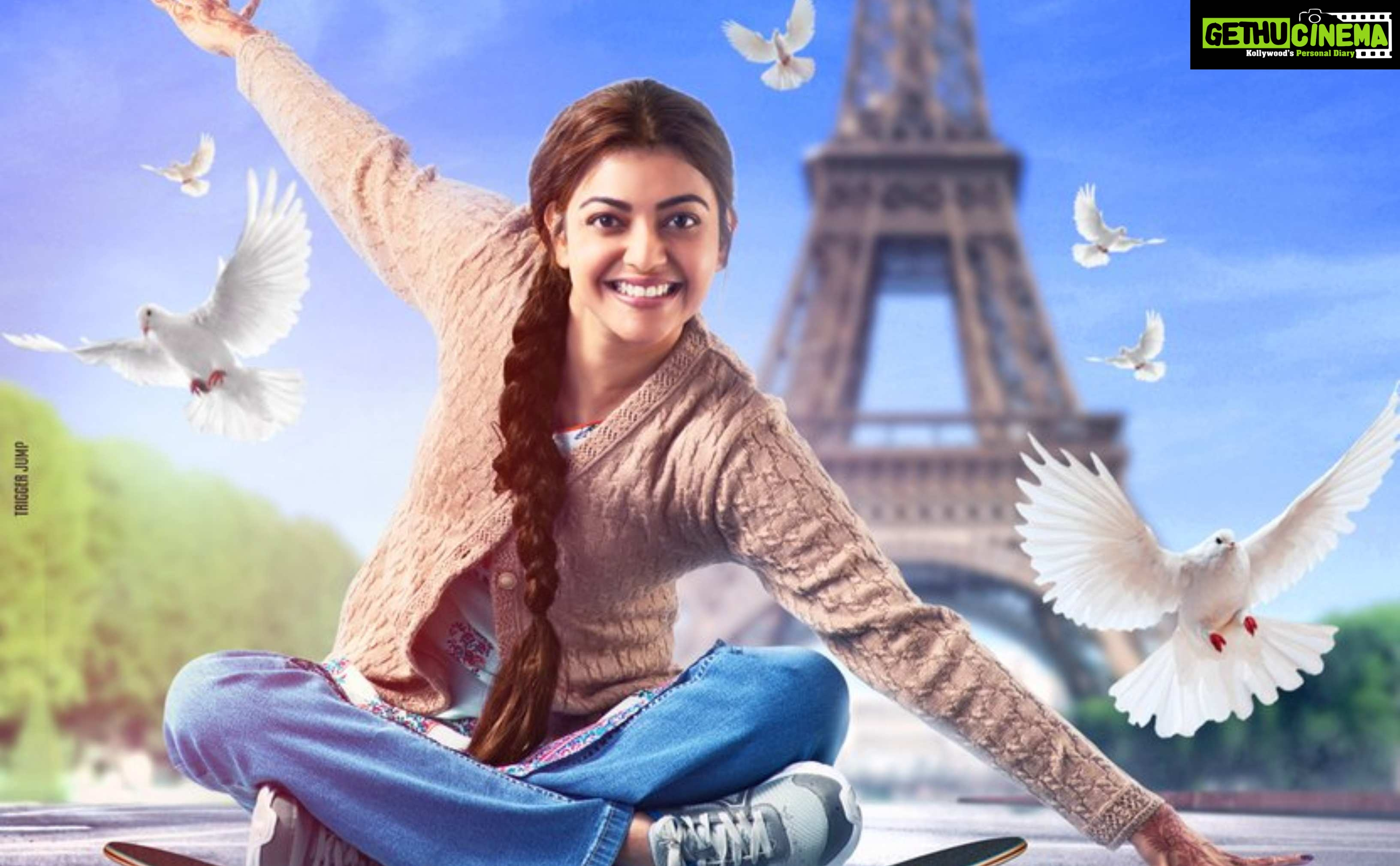 Paris Paris, Kajal Aggarwal, queen remake, first look   (1)