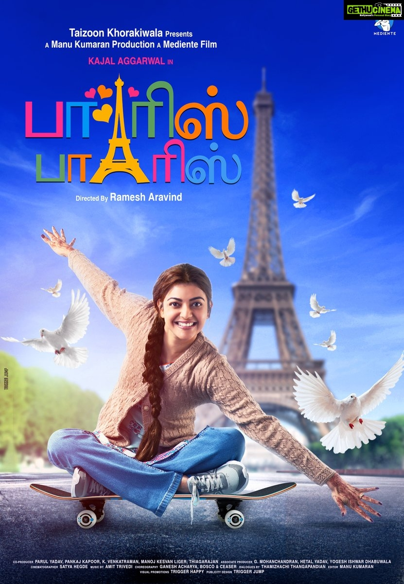 Paris Paris, Kajal Aggarwal, queen remake, first look   (3)