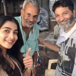 Pooja Hegde, Aravindha Sametha, team, selfie