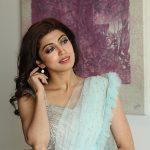 Pranitha Subhash, hair style, saree, glamour