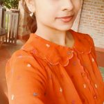 Priyaa Lal, Genius, orange dress, selfie, tamil actress