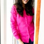 Priyaa Lal, Genius, pink dress, hair style, smile