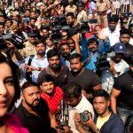 Rashi Khanna, selfie, fans, media