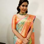 Rashi Khanna, traditional dress, saree, wallpaper