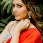 Rashi Khanna, wallpaper, red dress, photo shoot