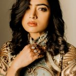 Rashmika Mandanna, hair style, face, rare