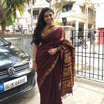 Raveena Ravi, Dubbing Artist, treditional girl