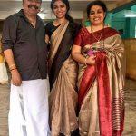 Raveena Ravi, Kaavalthurai ungal nanban Heroine,  mother, father