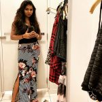 Raveena Ravi, dressing room