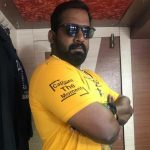 Robo Shankar, yellow t shirt