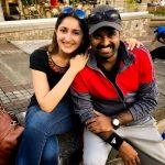 Sayyeshaa, latest, al vijay, tour, Mauritius, instagram